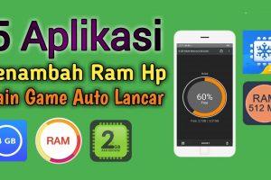 Aplikasi Penambah RAM Android Terbaik